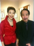 前田美波里さんと梅沢和人